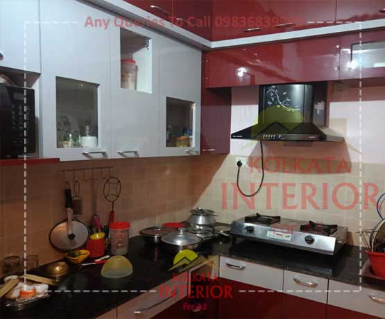 Top Kitchen Interior Design Decoration Kolkata Low Cost