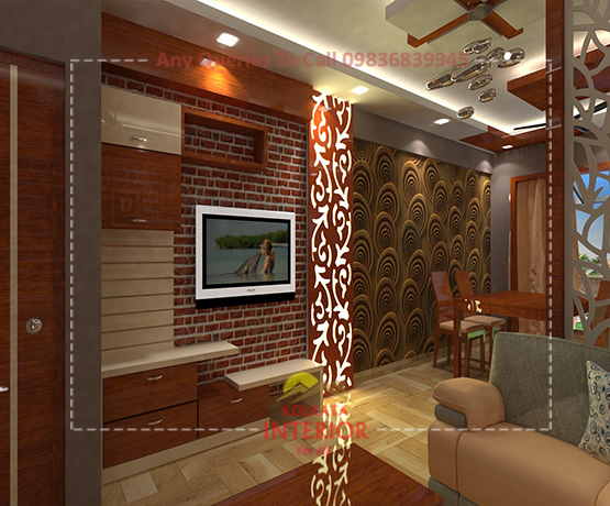 affordable cost interior decoration west bengal