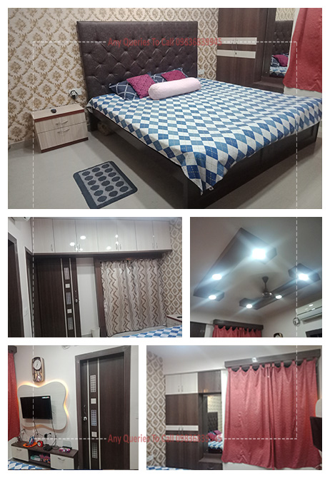 modern bedroom interior cost in kolkata