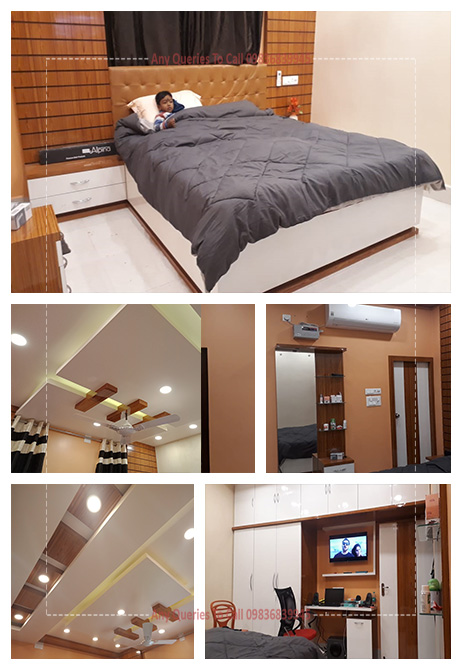 bedroom interior cost west bengal
