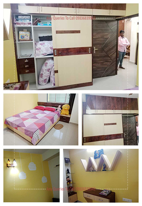 bedroom interior cost north kolkata