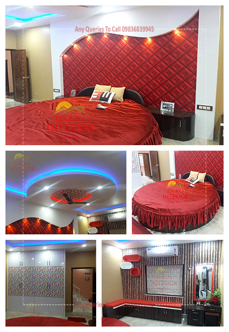 bedroom interior cost howrah