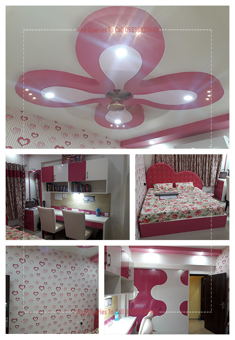 bedroom interior cost south kolkata