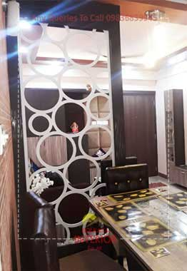 3 bhk flat interior design & decorations ideas new town kolkata