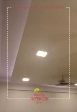 false ceiling cost per sqft in kolkata