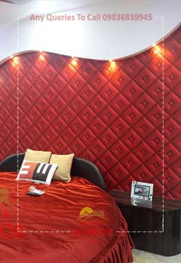 bedroom headboard padding howrah kadamtala