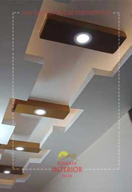 how much does a false ceiling cost kolkata