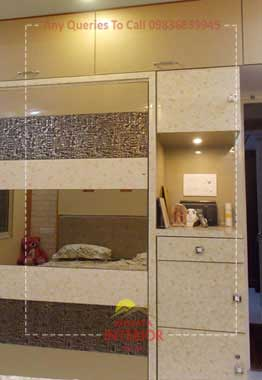 bedroom wardrobe design ideas kolkata sodepur