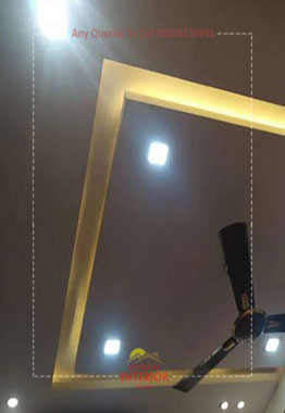 bedroom false ceiling lighting kolkata