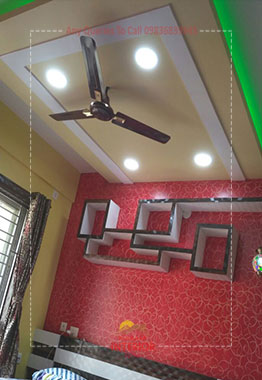 false ceiling cost per square feet in kolkata