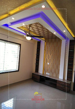 false ceiling for living room kolkata