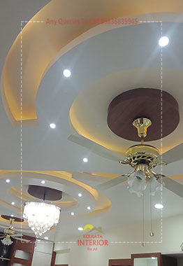 false ceiling lighting ideas new town