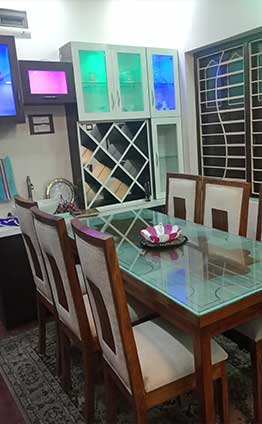 2 bhk house interior hooghly west bengal