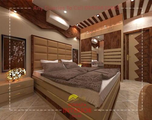 affordable and best bedroom interior design company in kolkata