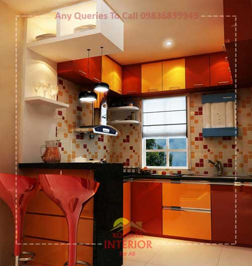 affordable and best kitchen interior design company in kolkata