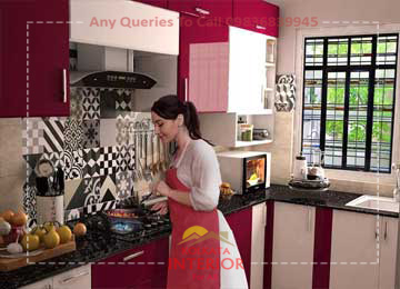 kitchen interior alipore kolkata
