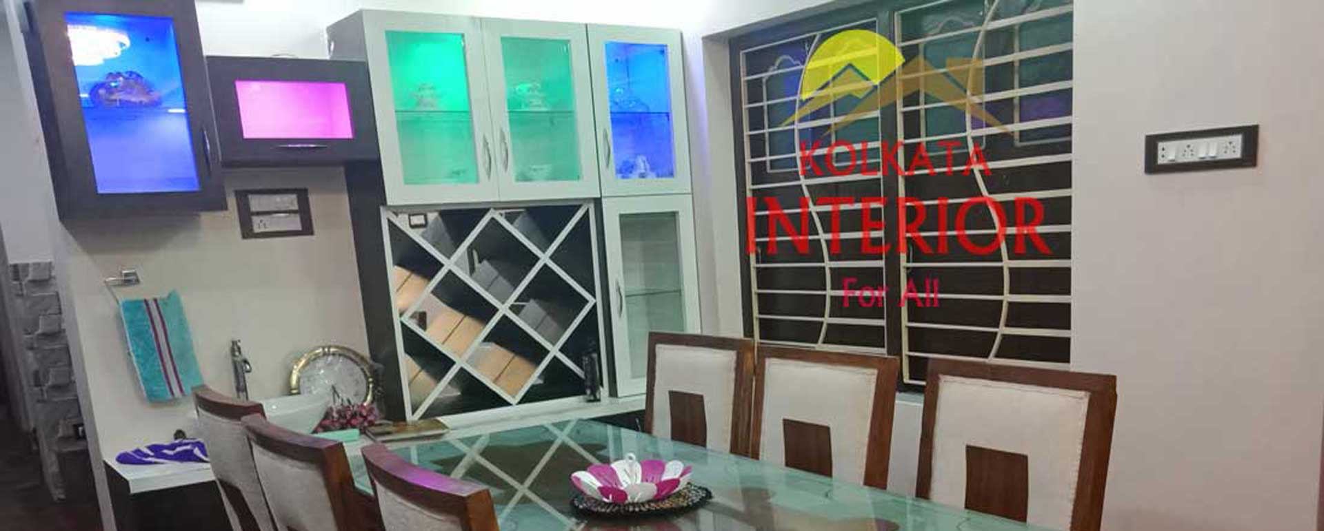 Best 3 Bhk Flat Interior Designer Decoration Kolkata Low Cost