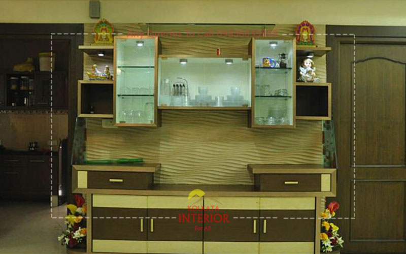 affordable cost top wall unit furniture in kolkata