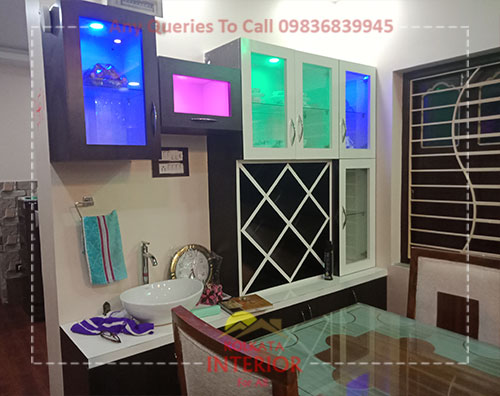 cost for wall unit furniture in kolkata