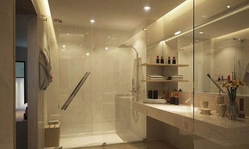 complete bathroom designing