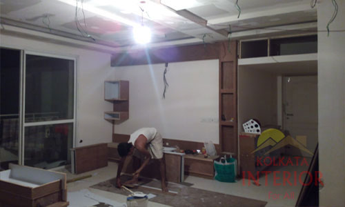 residential interior decorations carpentry works kolkata