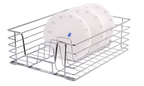 Modular Kitchen Accessories Kolkata Stainless Steel Thali Plate Basket