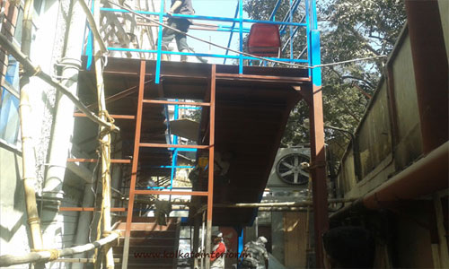 Emergency Exit Staircase Fabrication Kolkata