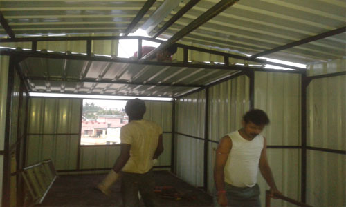 Rooftop Shade Designer Fabrication Kolkata