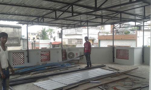 Rooftop Shade Manufacturing Fabrication Solution Kolkata