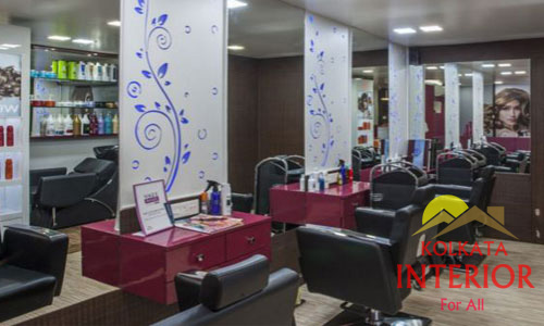 Beauty Parlour Saloon Interior Designers Decoration Designing Kolkata West Bengal