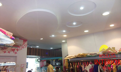 Cost of Showroom Interior Decoration Kolkata West Bengal
