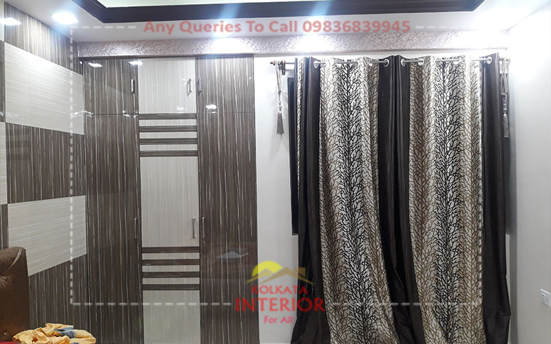 Affordable Cost Bedroom Interior Rajarhat Kolkata Interior