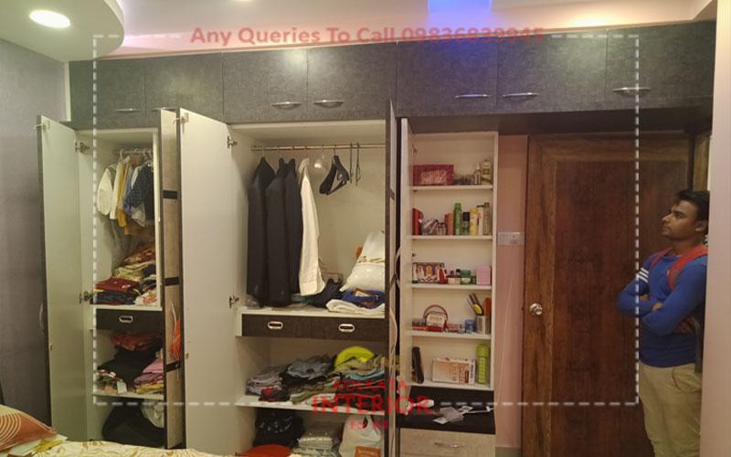 3 bedroom house interior cost garia kolkata