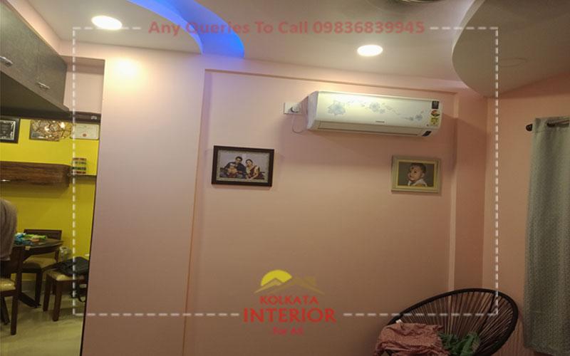 interior design cost for 3 bhk in garia kolkata