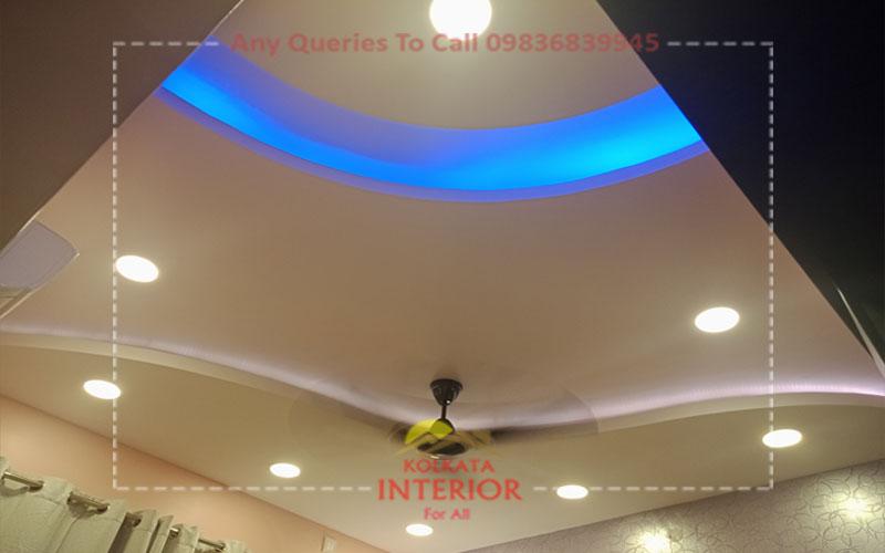 bedroom false ceiling cost kolkata garia