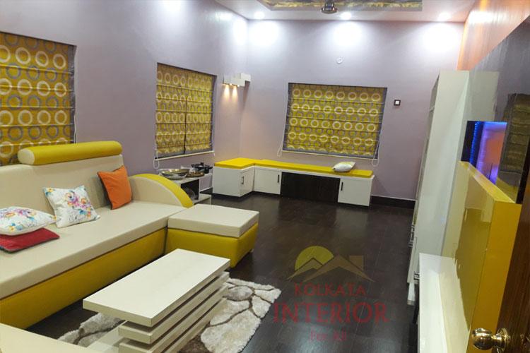 5 5 Lakhs Cost 2 Bhk House Interior Design Howrah Kadamtala