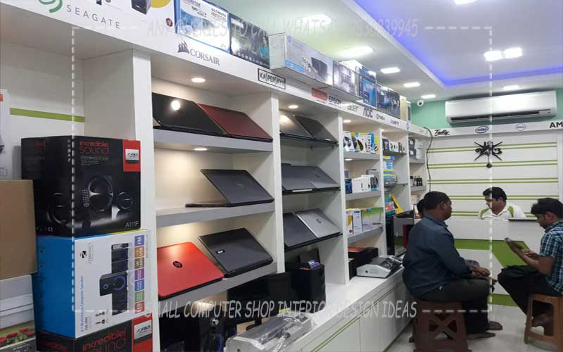 Awesome Computer Shop Interior Design Ideas Contemporary - Interior ...