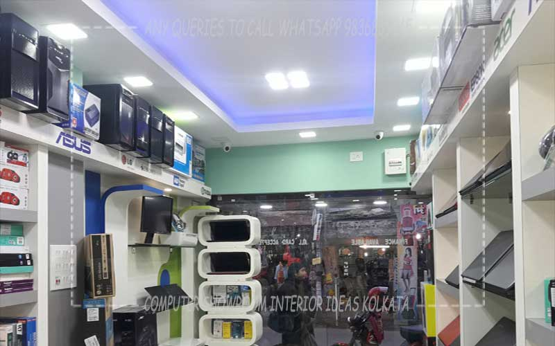 Small Shop Interior Design Decoration Designer Ideas Kolkata