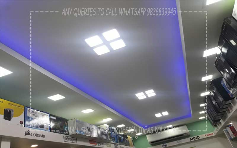 Small Shop Interior Designing Decoration Designers Ideas Kolkata