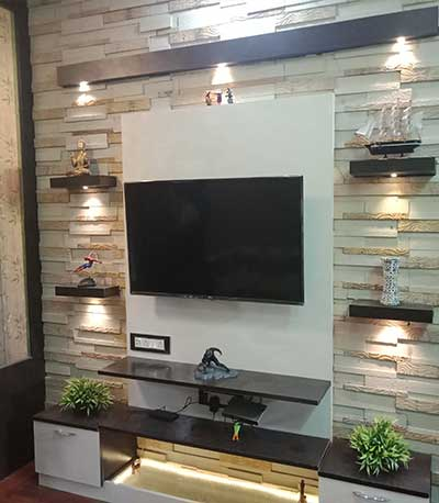 3 Lakhs Cost Living Room Interior Ideas New Town Kolkata