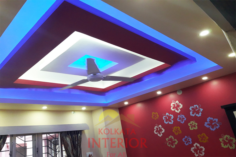 1 bhk flat bedroom decoration designers kolkata