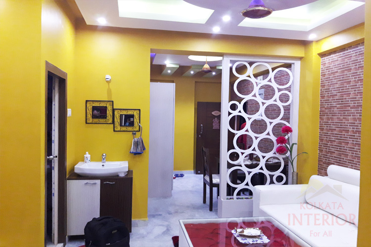1bhk flat interior designing decoration ideas sodepur 1 for 1 bhk interior designs