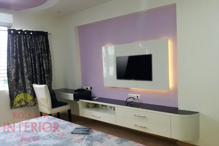 Simple Beautiful 3 Bhk Interior Design Decoration Tangra Kolkata