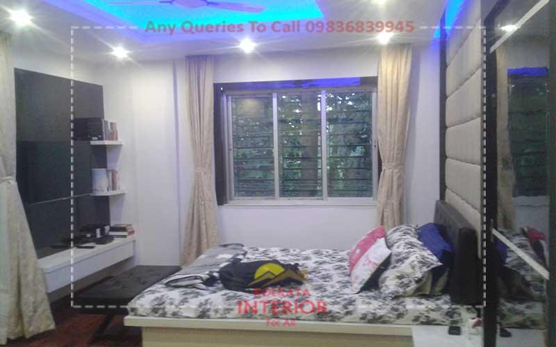 Bedroom Interior Design 2 35 Lakhs Cost Kolkata Baguiati Kolkata Interior